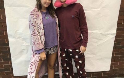 Monday's #phsSPIRIT Week Story – Pajama Day