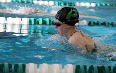 Pattonville goes head-to-head against Parkway North in swim meet