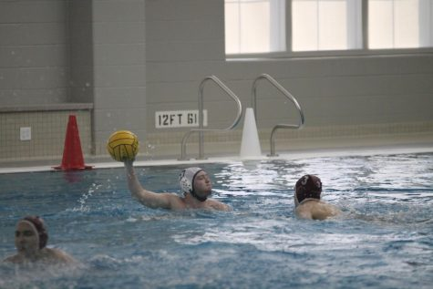 Pirates water polo scrimmages against MICDS
