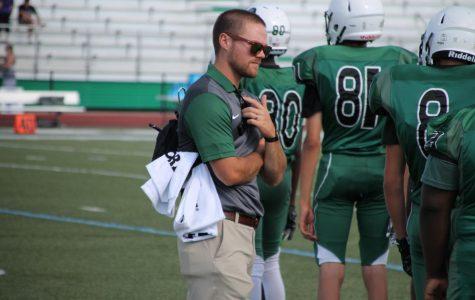 Meet new athletic trainer: Mr. Alexander Hubbs