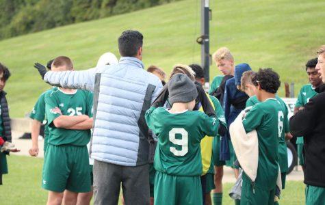 Freshman boys' soccer finishes their season