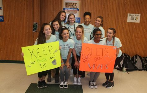 Varsity cheerleaders headed to Dallas to compete at Nationals