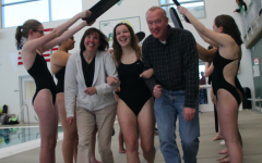 Senior swimmers honored during Senior Night