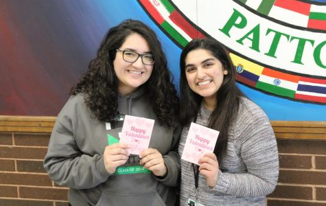 International Club sells carnations for Valentine's Day
