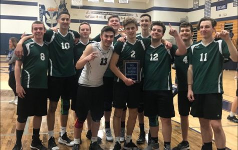 Varsity volleyball ranked No. 1 in state by MaxPreps