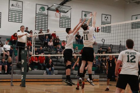 Midseason update for boys volleyball
