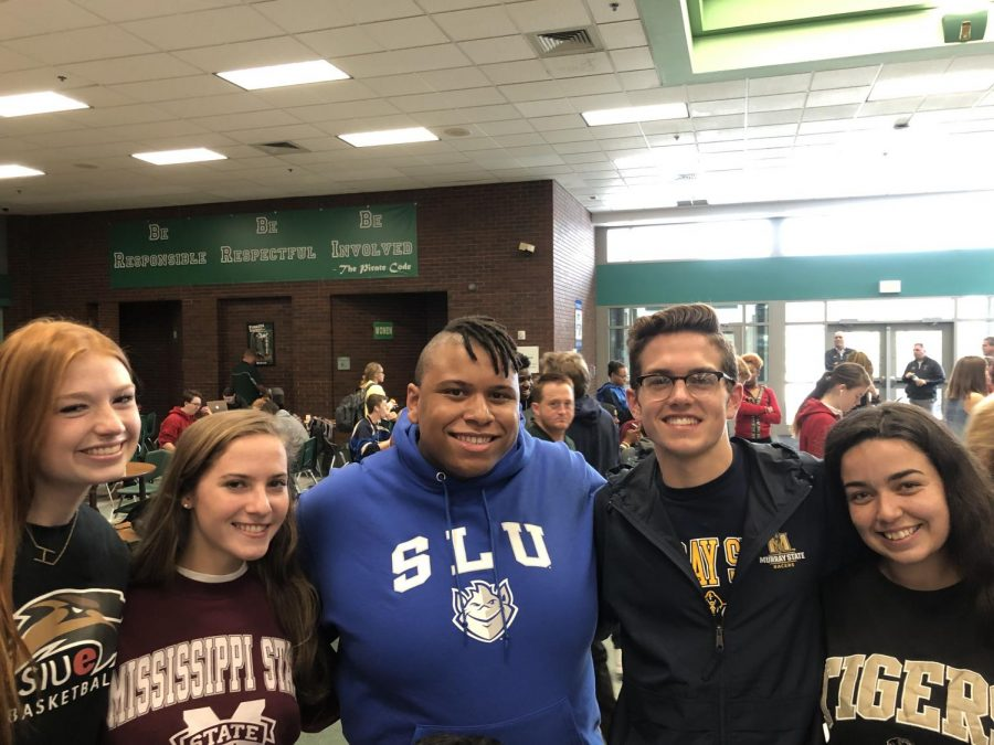 Seniors+celebrate+on+National+College+Decision+Day