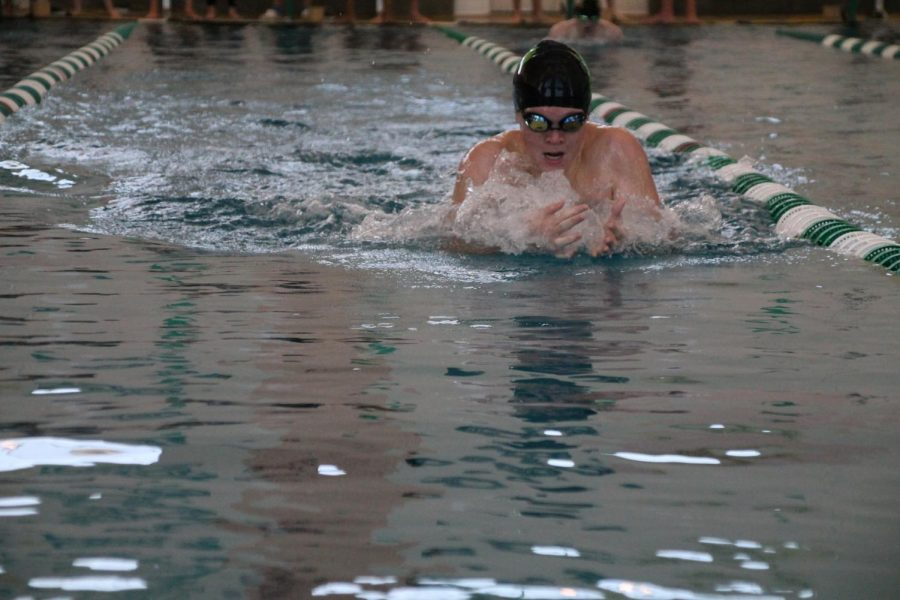Two Swimmers Qualify for State Early in Season