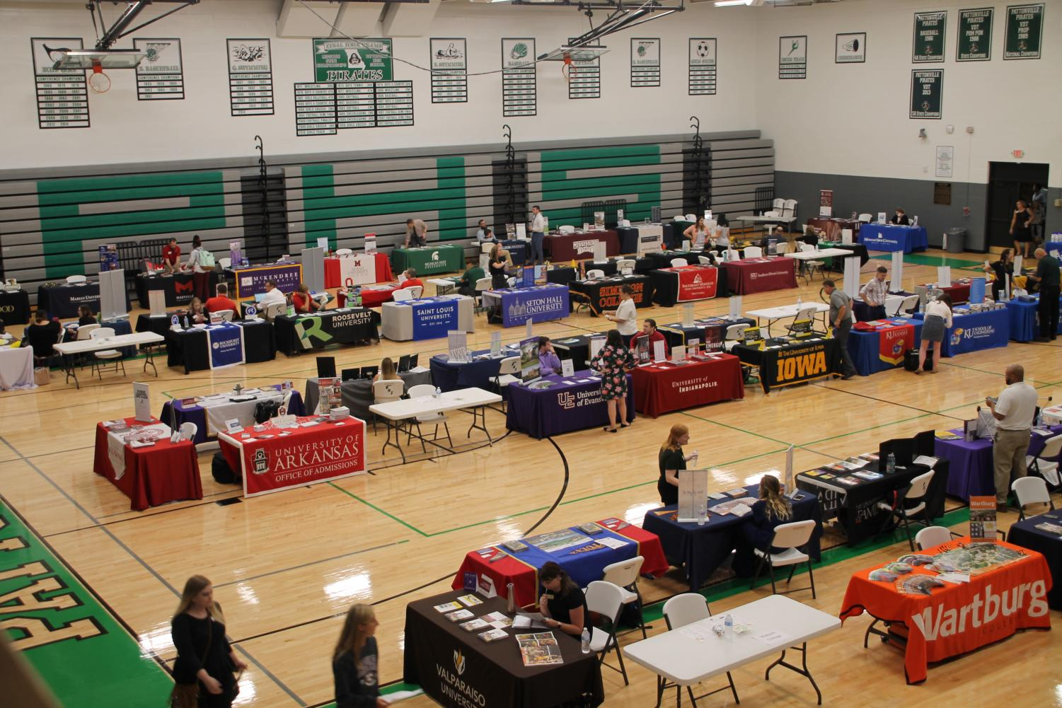 103 colleges and universities assemble for the College Fair on September 17.