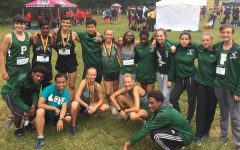 Boys' and girls' cross country after their races