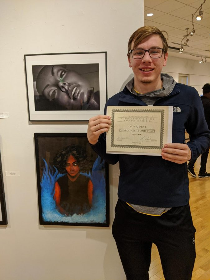 Jack Goetz, 2nd Place Photography