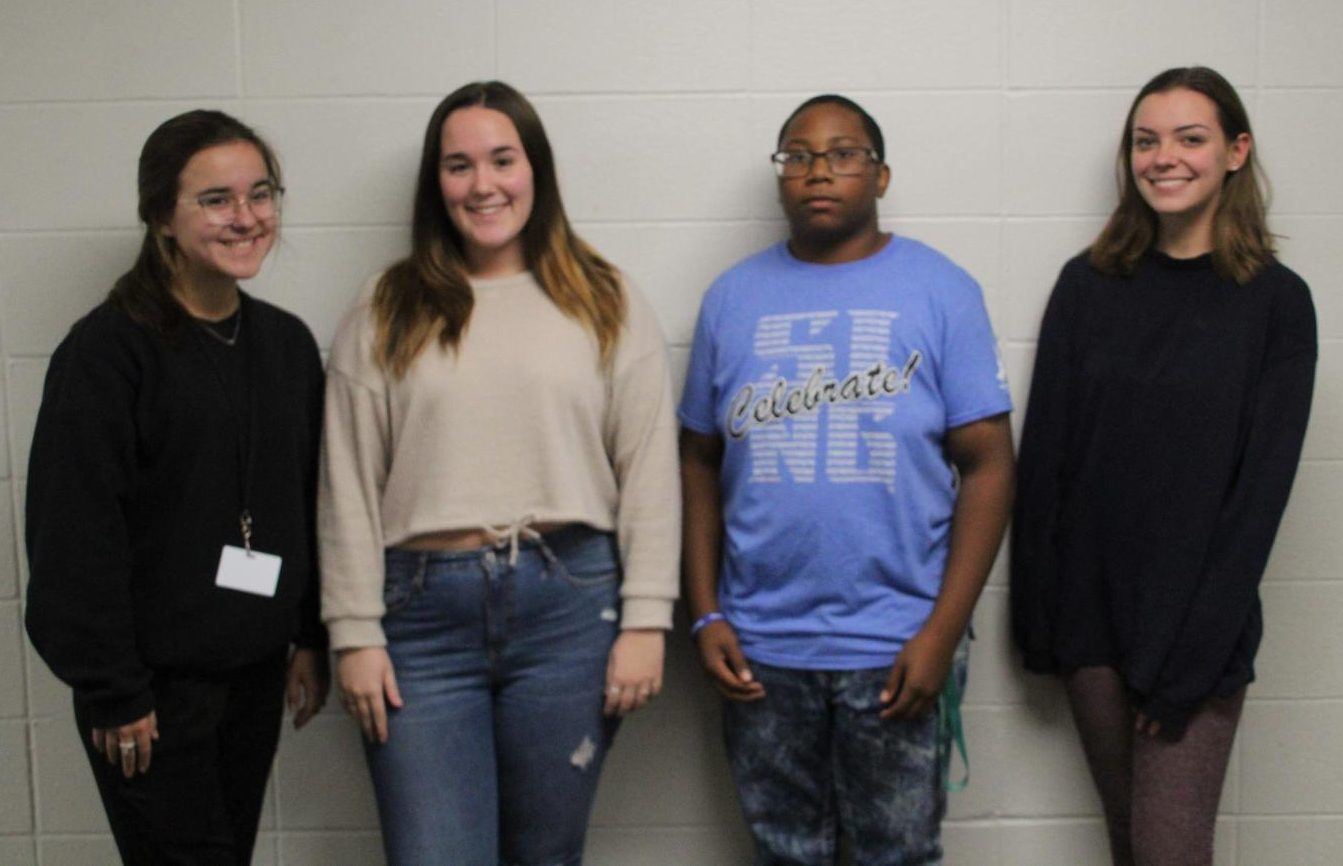 Pattonville students Julia Drake, Taylor Knight, Mackenzie Voss, and Tony Washington selected for All-State Choir.