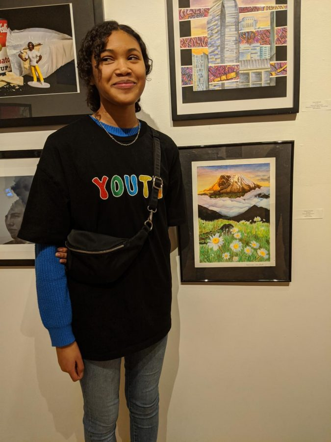 Adrianna Marshall (11) Features Painting at Lindenwood Show