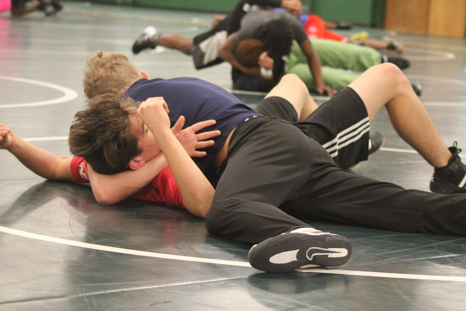 Drills and practicing moves help players develop skills for their matches.