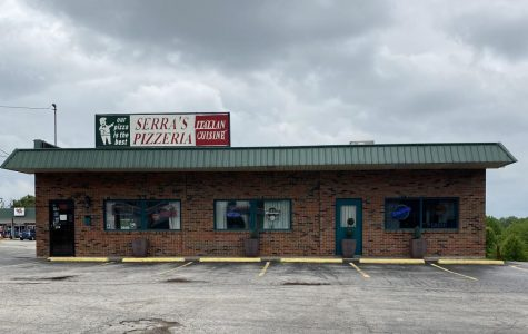 Serra's Pizzeria on McKelvey Rd. in Maryland Heights, MO.
