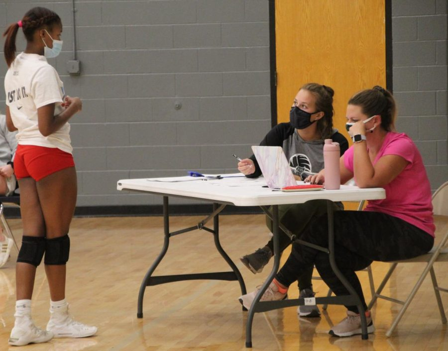 Pattonvilles volleyball program diving right into their season. Rickie Huff checking in on the first day of try-outs.