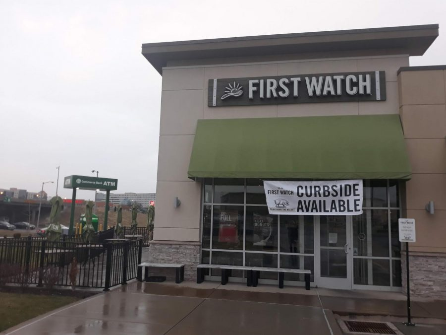 First Watch is on the corner of St. Charles Rock Road and Lindbergh Blvd.