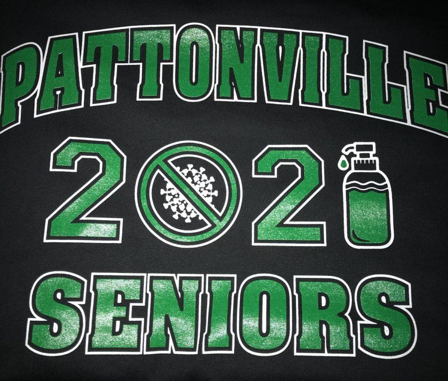 Seniors receive the t-shirt at the Senior Blast Event on December 14. The event was created to help seniors celebrate their accomplishments.