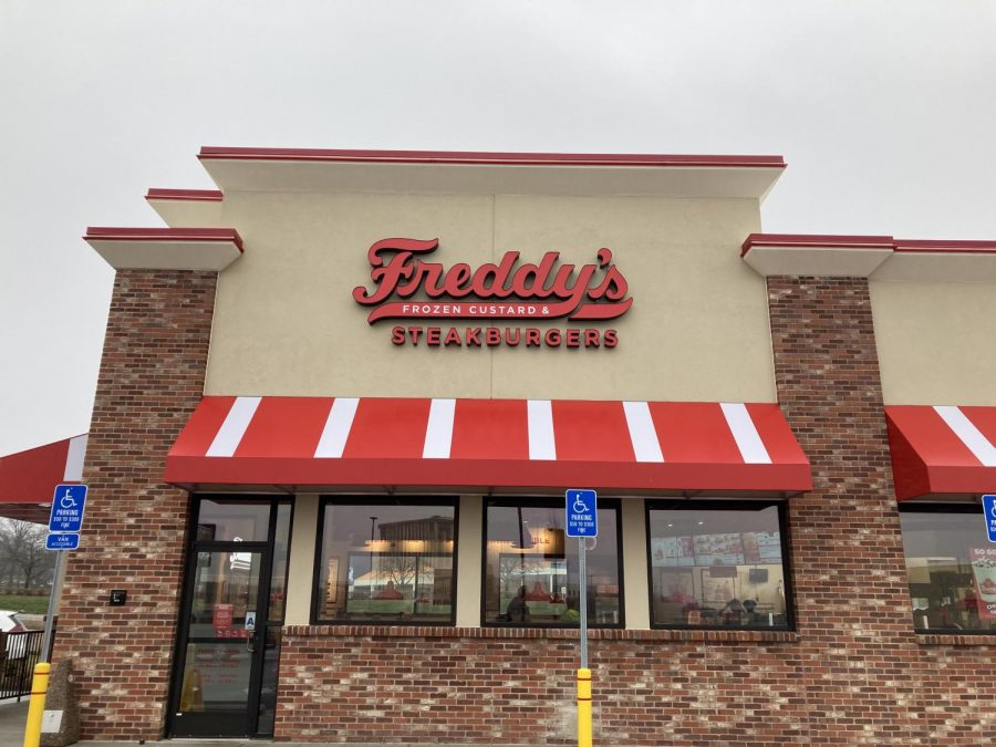 Northwest Plaza's newest edition is know for their frozen custard and steak burgers Freddy's new location is on 947 NW Plaza in St Ann MO
