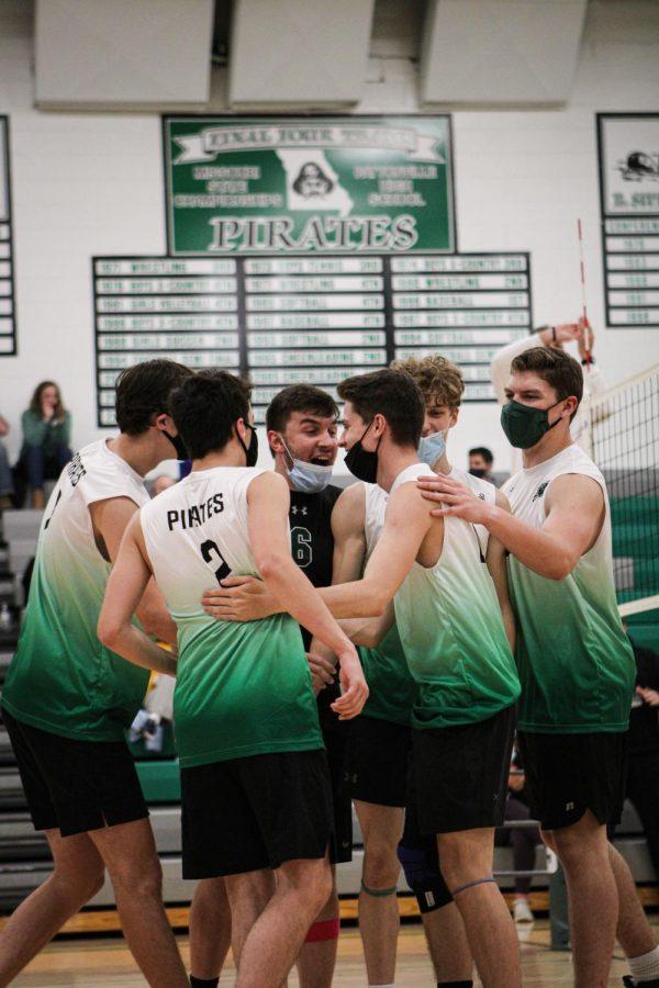 Boys' Varsity Volleyball Undefeated Record Breaks History