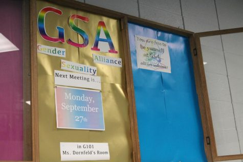 GSA is hosting meetings every Monday in G101. The GSA is a club that helps LGBTQIA+ students and allies socialize.